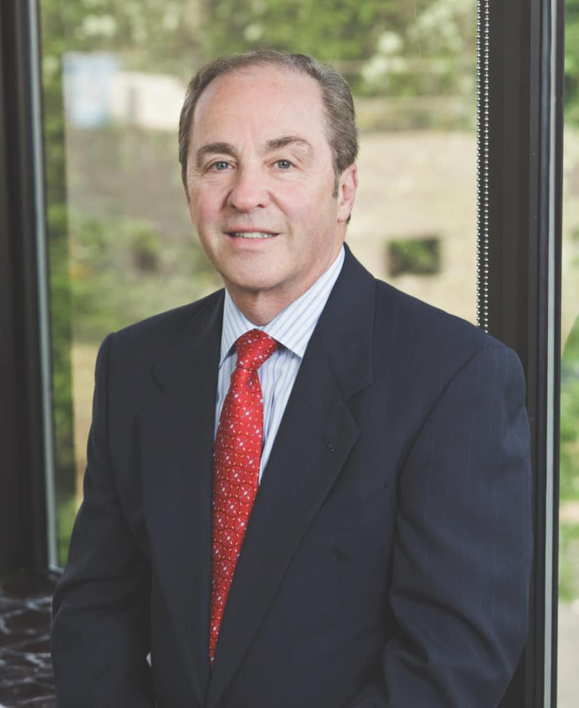 Mark A. Breiner, DDS, at his office in Fairfield, CT.
